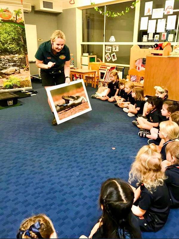 School Incursions Wildlife Show.